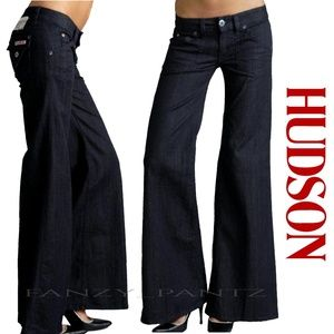 Hudson Jeans Deluxe Wide Leg Trouser Pure 28 x 30